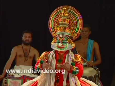 Kathi - Kathakali Make-up