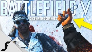 Battlefield 5 DICE already making changes to the game