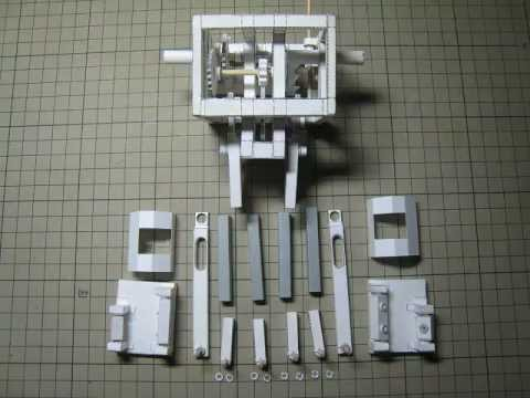 Papercraft Walking paper