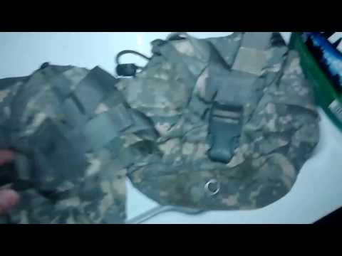 Clean drinking water part 2, decon MOLLE canteen gear.