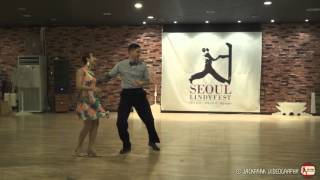 SEOUL Lindyfest 2015 - Performance - Todd & Laura