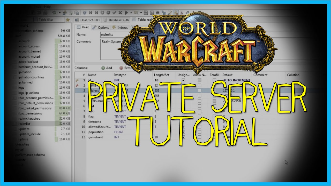 HOW TO CREATE A WORLD OF WARCRAFT PRIVATE SERVER! - (UPDATED)