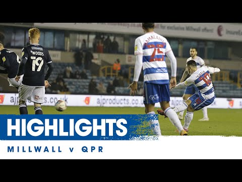 Millwall QPR Goals And Highlights