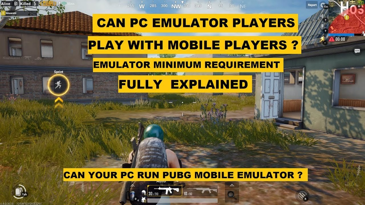pubg mobile on pc requirements