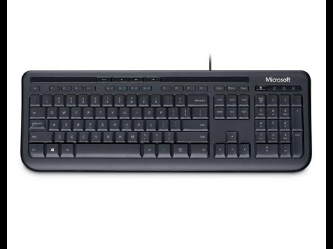 Клавиатура проводная Microsoft Wired 600 USB RUS (ANB-00018)