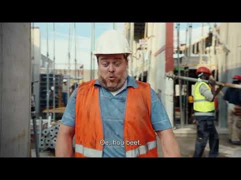 TV Commercial Staatsloterij – Bouwvakker – De 10e kan het gebeuren!