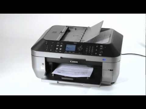 Canon Pixma MX870 Demonstration Built-In Auto Duplex Printing