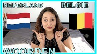 NEDERLAND VS BELGIE!   WOORDENSCHAT