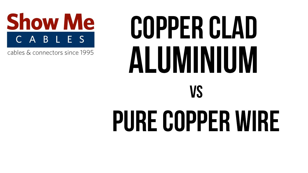 Copper Clad Aluminium Vs Pure Network Cables Youtube Aluminum Wiring In Homes Bc