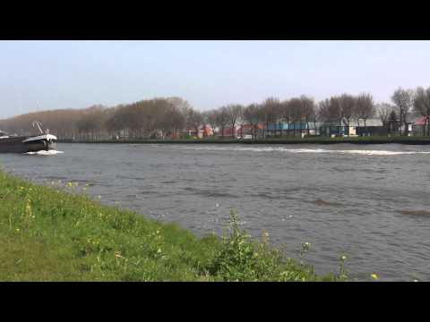 Boats on Amsterdam–Rhine Canal #2