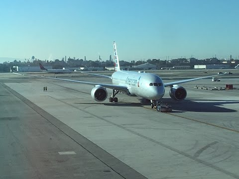 American Airlines l 787-8 l Business Class l LAX - HND l Los Angeles - Tokyo Handea