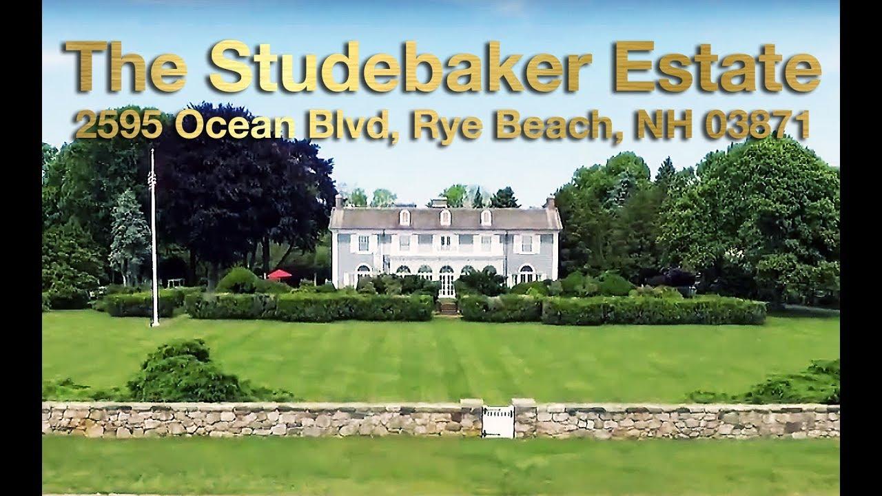 The Studebaker Estate ( Built in 1914 -15 ) | Rye Beach, NH | Rita