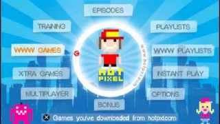 Hot Pixel Game Intro (PSP)