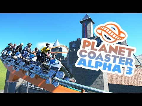Planet Coaster Alpha 3 Gameplay - Medieval Midway! - Let's Play Planet Coaster Alpha 3 Part 6