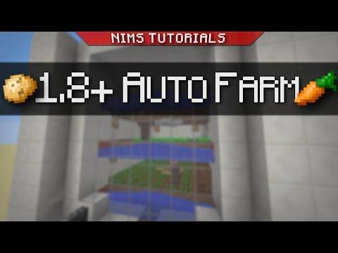 NIMSTUT - Full Auto Potato & Carrot Farm (1.8 - 1.11+)