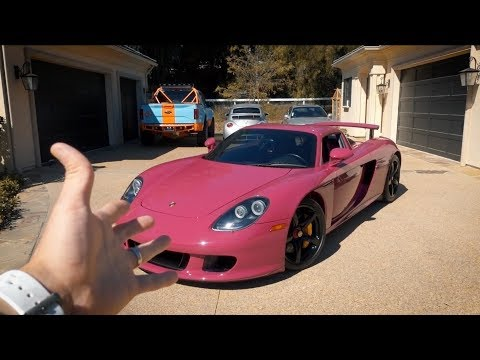 Why is my Carrera GT pink!?
