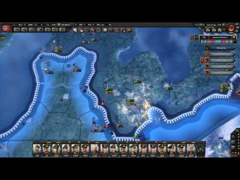 Let´s Play Hearts of Iron 4 (Sunflower) Germany 46 Allies Capitulation