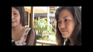 Talking to the Girls and their Boss who run Barbara Massage Parlour in Koh Lanta island, Thailand