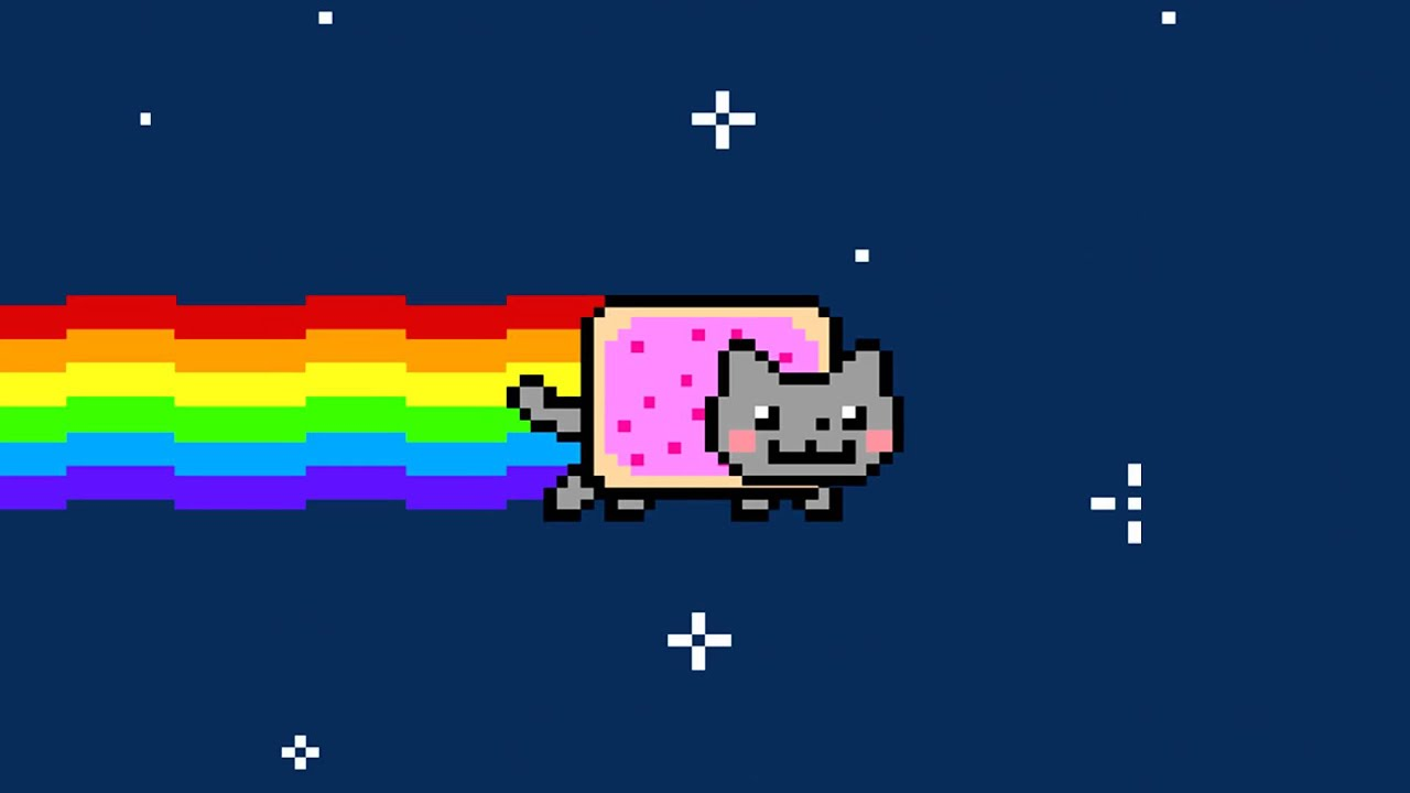 Nyan cat rock version youtube