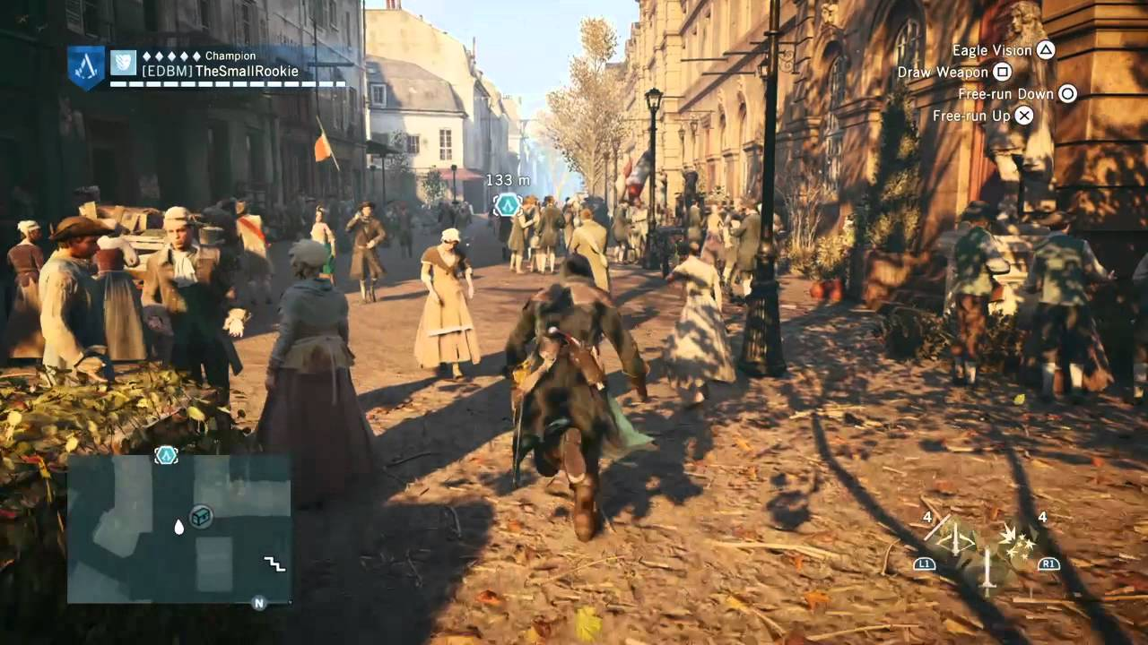Assassin S Creed Unity Underground Armory Pack Gameplay 1 Youtube