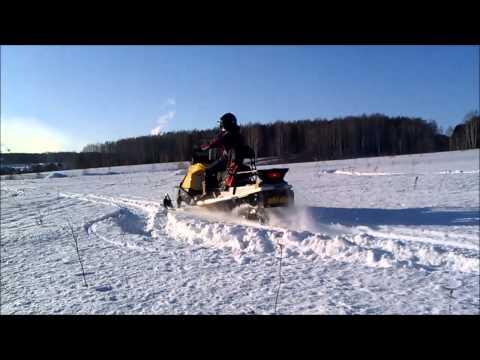 Обкатка снегохода BRP TUNDRA LT 600 ACE