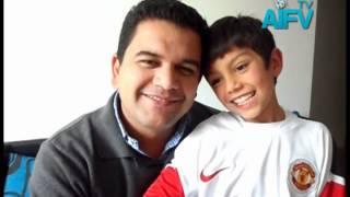 Simon Murcia con AIFV