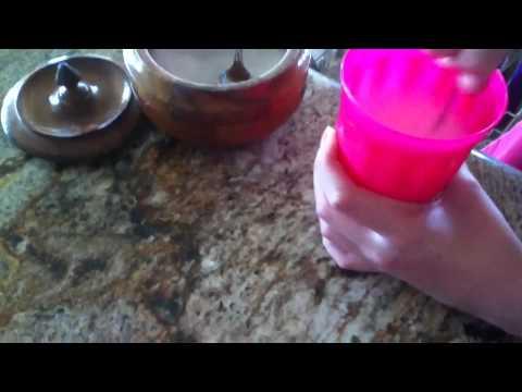 Making Vanilla Milk
