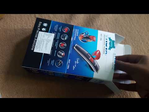 Nova NHT 1086 TRIMMER Unboxing & Hands On Overview