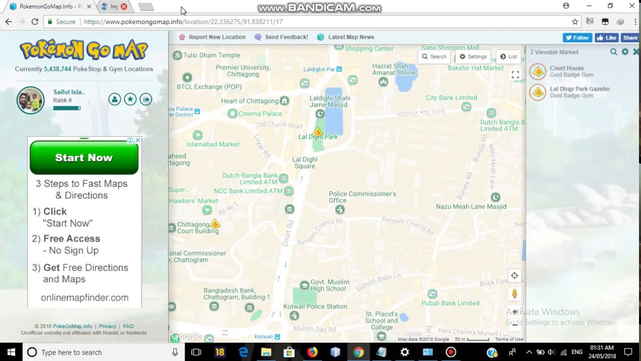 How to Report Locations(Gym/Pokestop) in pokemongomap info more easily and  accurately