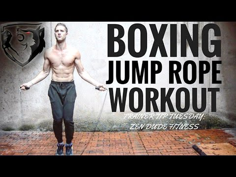 15 Min Boxing Jump Rope Workout