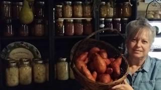 Canning sweet potatoes ~ Bonus~ Thanksgiving sweet potatoes