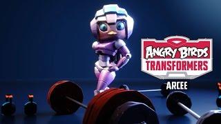 Злые птички трансформеры-прохождение игровой мультик для детей angry birds transformers  #МУЛЬТИКЕКС