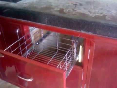 Modular kitchen mdf cupboards pvc kitchen cupboards pvc for Modular kitchen designs aluminium
