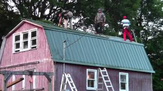 The Itsy Farm Barn Gets A New Roof