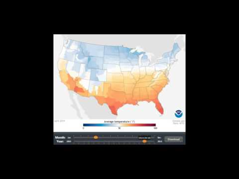 15 Years of U.S. Temperatures (2000-2015) in 4 Minutes