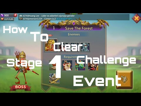 How To Clear Challenge Event Stage 1 Mastercook In Lords Mobile