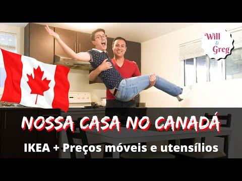 NOSSA CASA NO CANADÁ | Ikea | Preços | Montagem dos móveis | Tudo sobre o Canadá