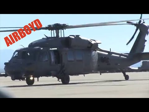HH-60 Pararescuemen Flight