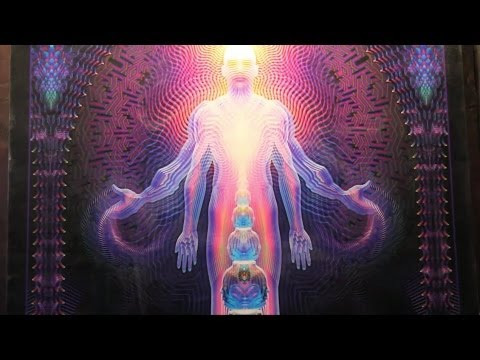 Why Visionary Art Matters by Alex Grey - Burning Man 2012
