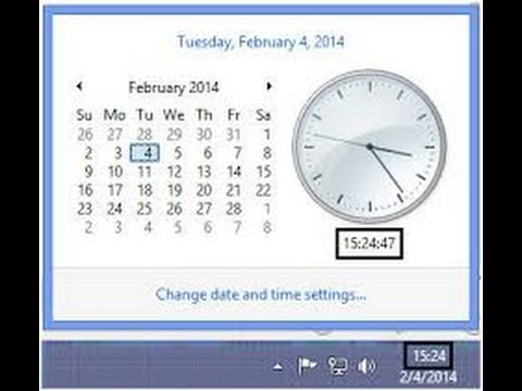 how to change 24 hour time format to 12 hour time format - YouTube