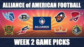 Alliance of American Football: Week 2 Predictions