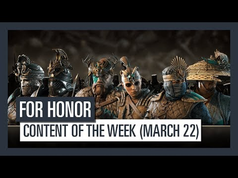 FOR HONOR - New content of the week (March 22)
