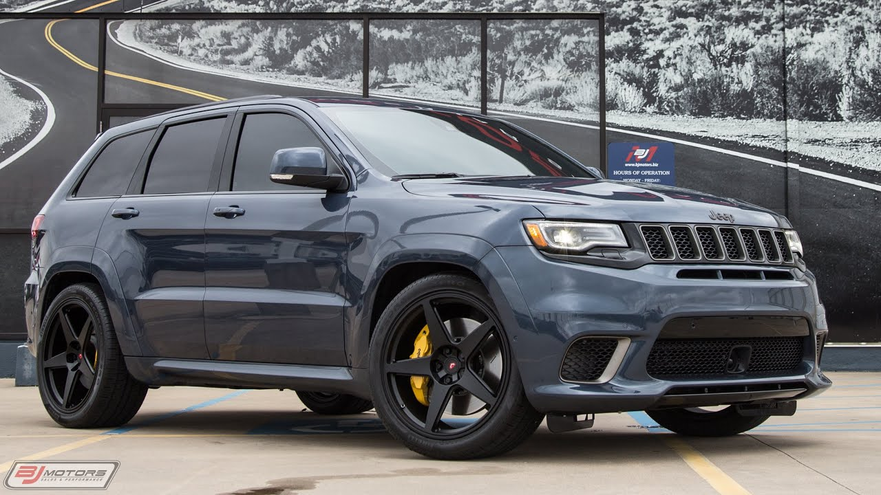 2020 Jeep Grand Cherokee Trackhawk Youtube
