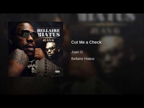 Cut Me a Check