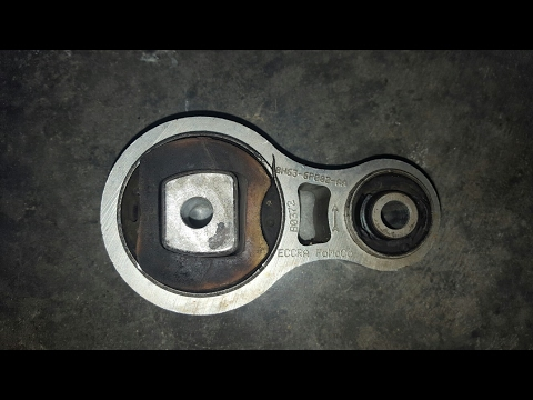 How to replace the torque mount on a lincoln mkz zephyr fusion ford lincoln