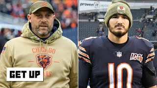 Matt Nagy has severely mismanaged Mitchell Trubisky and the Bears QBs - Dan Orlovsky | Get Up