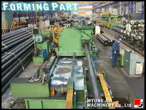 MJM (MYUNG JIN MACHINERY S.korea) 10inch tube mill line with finishing equipments