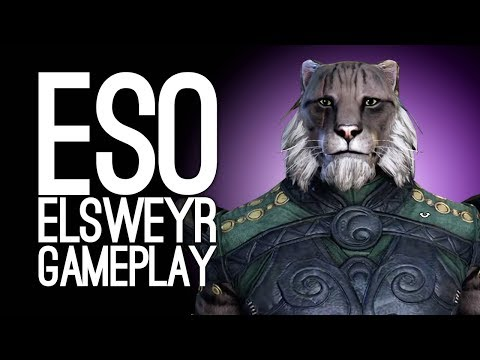 Elder Scrolls Online Elsweyr Gameplay: Let's Play ESO Elsweyr - OLD UNCLE ANCHOVII