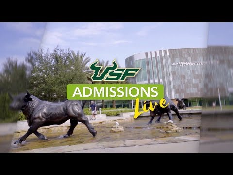 USF Admissions Live - College Counselor Virtual Meet & Greet