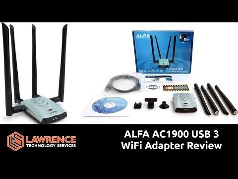 ALFA AC1900 WiFi Adapter1900 Mbps 802.11ac Long-Range Dual Band USB 3.0 Review